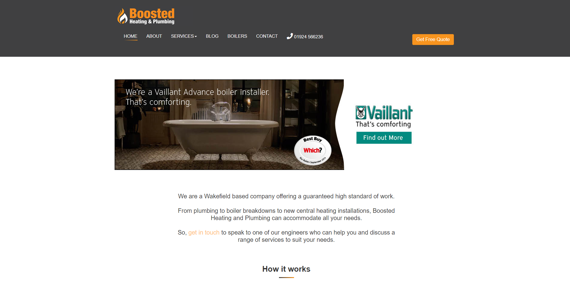 Boosted Heating & Plumbing /