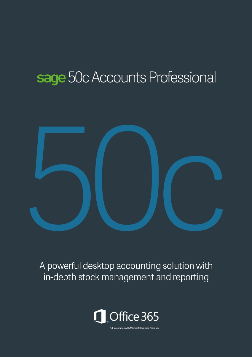 Sage 50C Accounts Professional Annual Subscription
